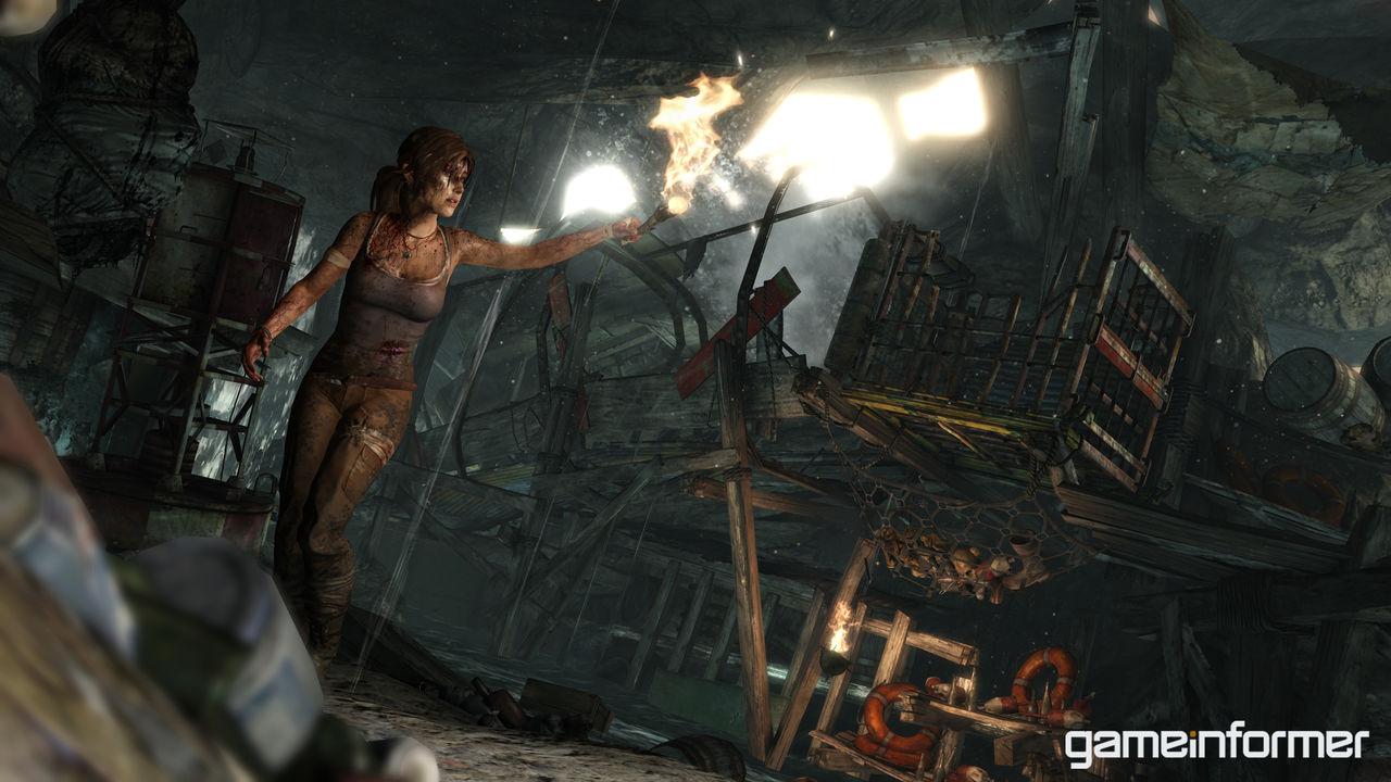 Bilder från nya Tomb Raider