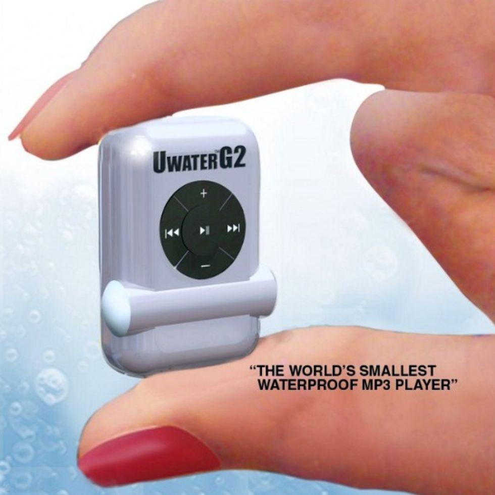 Världens minsta vattentåliga mp3-spelare
