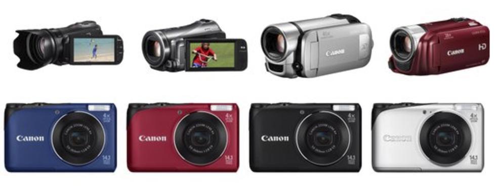 Canon släpper en hög med nya kameror