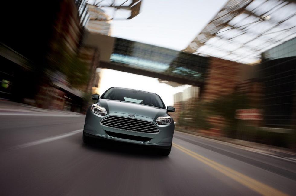 Eldriven Ford Focus presenterad