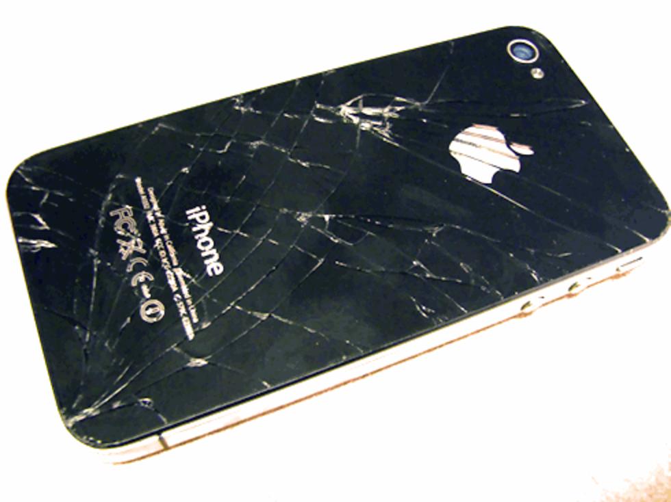 iPhone får inte användas i minusgrader