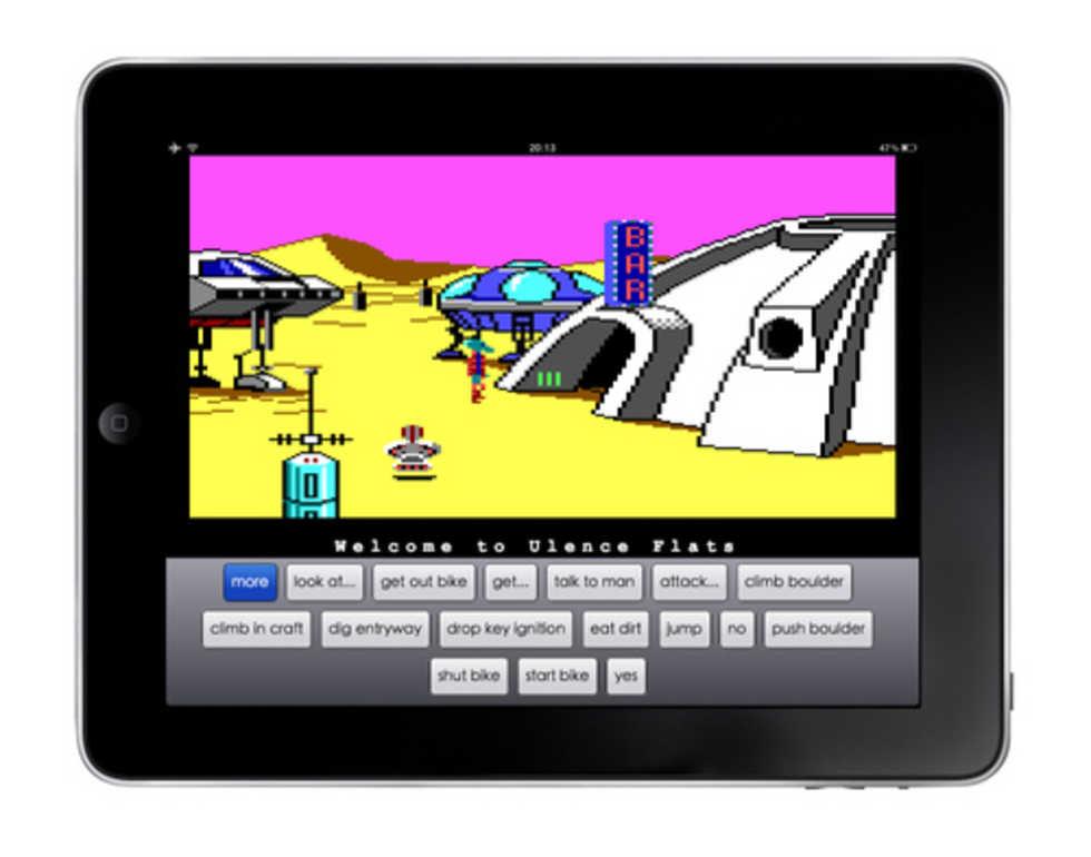 Spela Sierra On-Line på iPaden