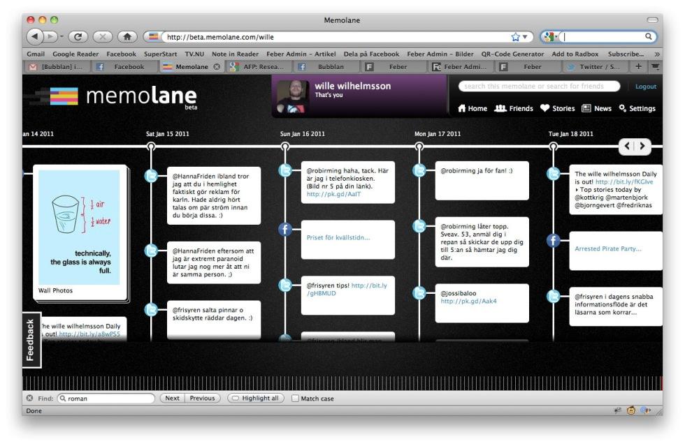 MemoLane - din digitala tidsmaskin