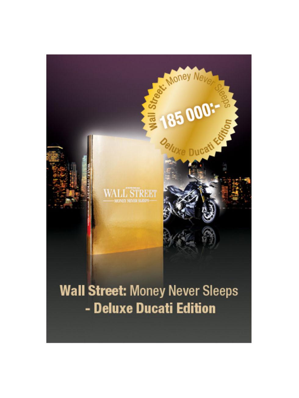 Köp Wall Street på Blu-ray - få en Ducati på köpet!