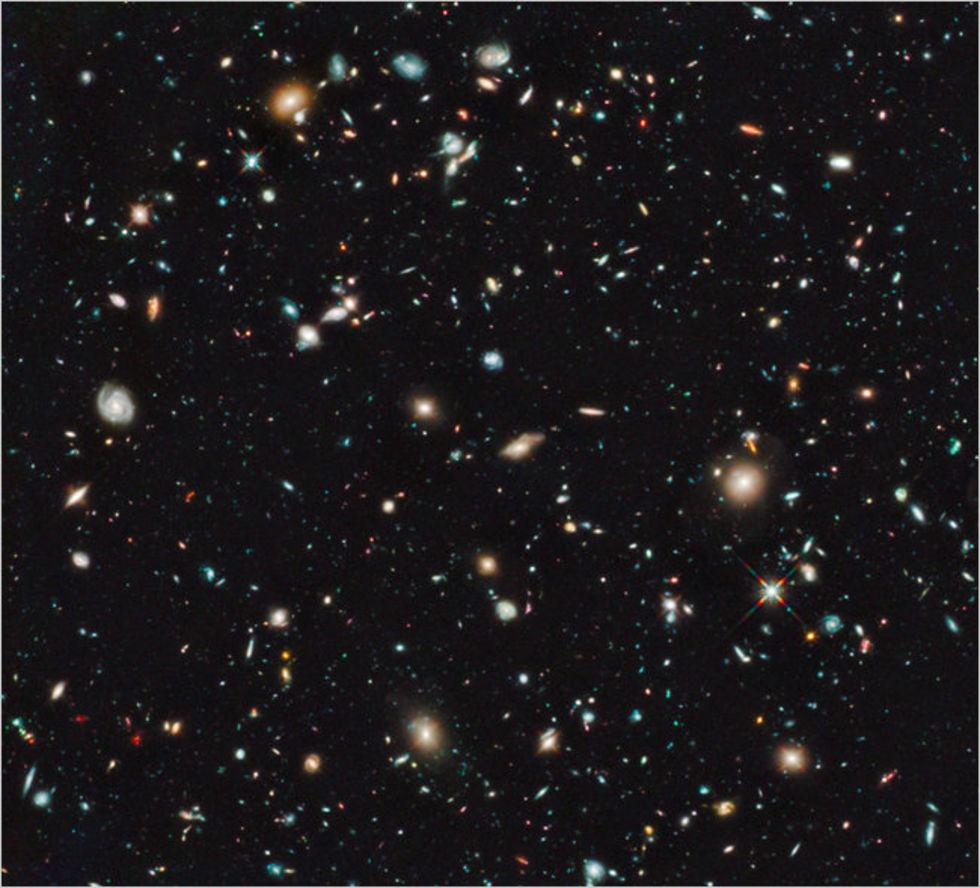 Äldsta galaxen hittills upptäckt