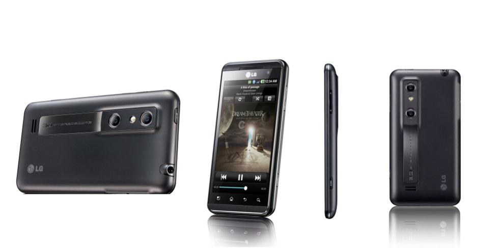 LG Optimus 3D - dubbelt upp på många fronter