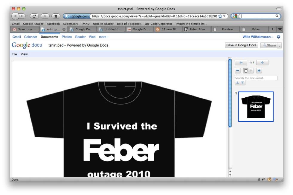 Stöd för tolv nya filformat i Google Docs Viewer
