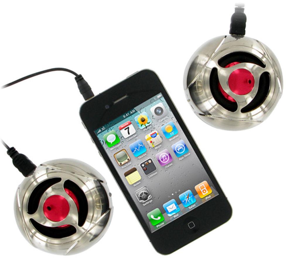 Små smidiga batteridrivna högtalare