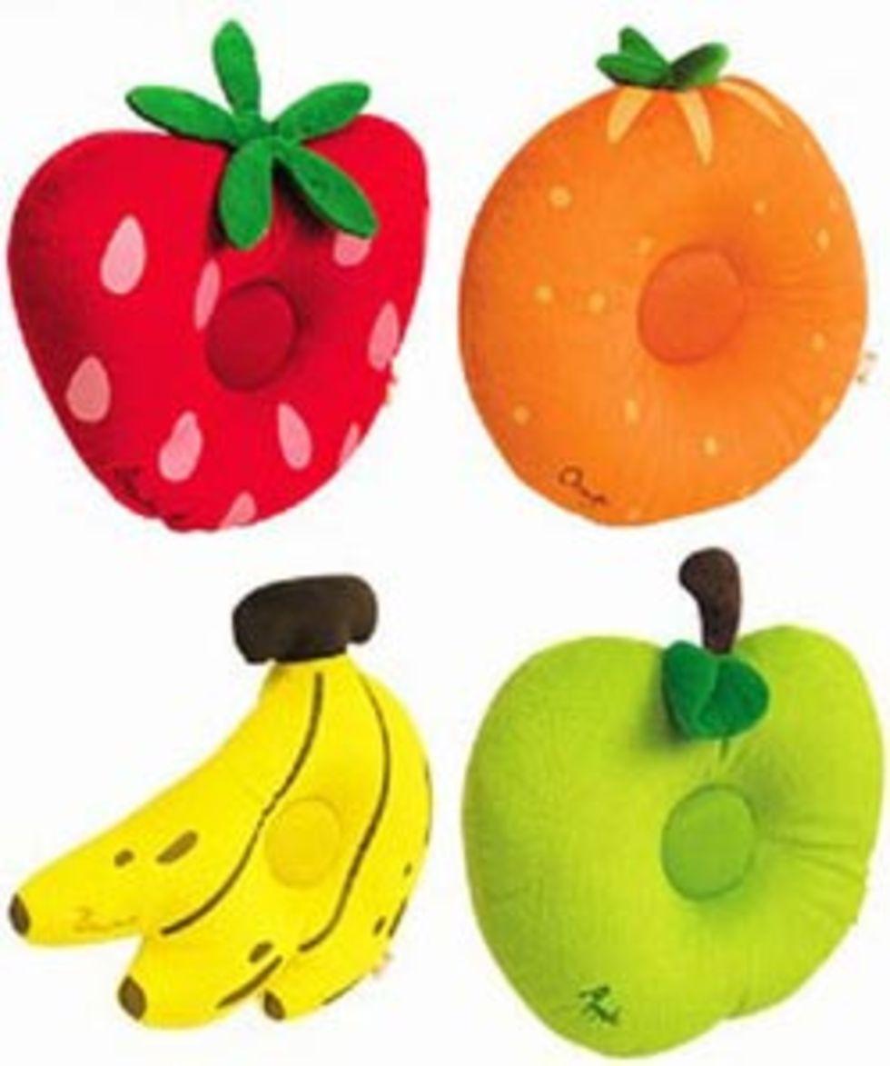 Musikaliska fruktkuddar