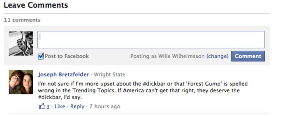 Nu kan du ha Facebooks kommentarer på din egen sajt