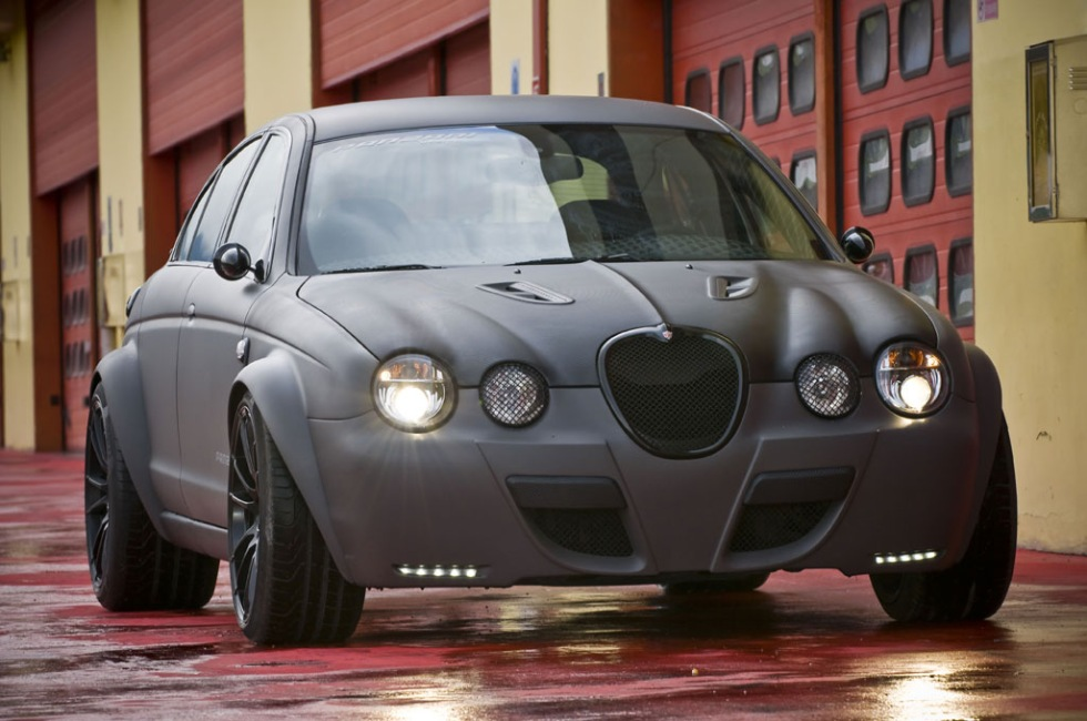 En hyfsat ovanlig Jaguar S-Type