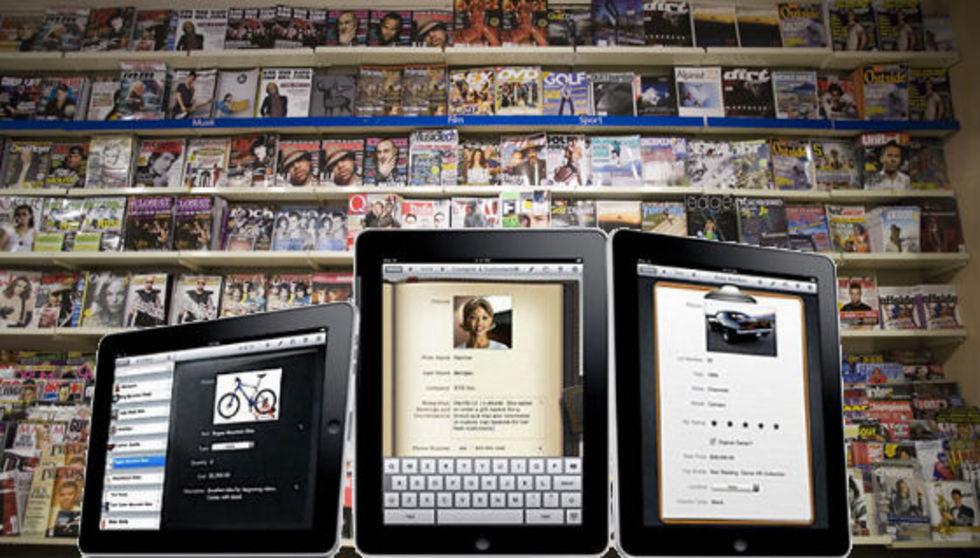 Apple gör egen magasin-mall för iPad?