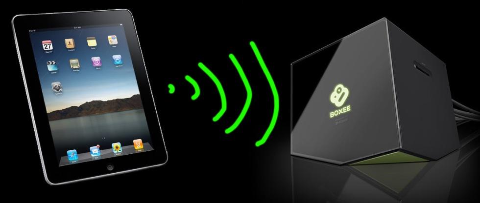 Strömma video från iPad till Boxee Box