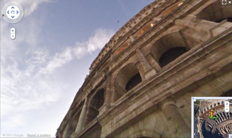 Kända historiska platser nu i Google Street View