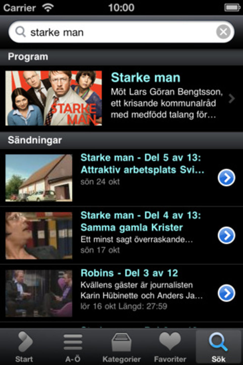 SVT Play för iPhone får stöd för AirPlay