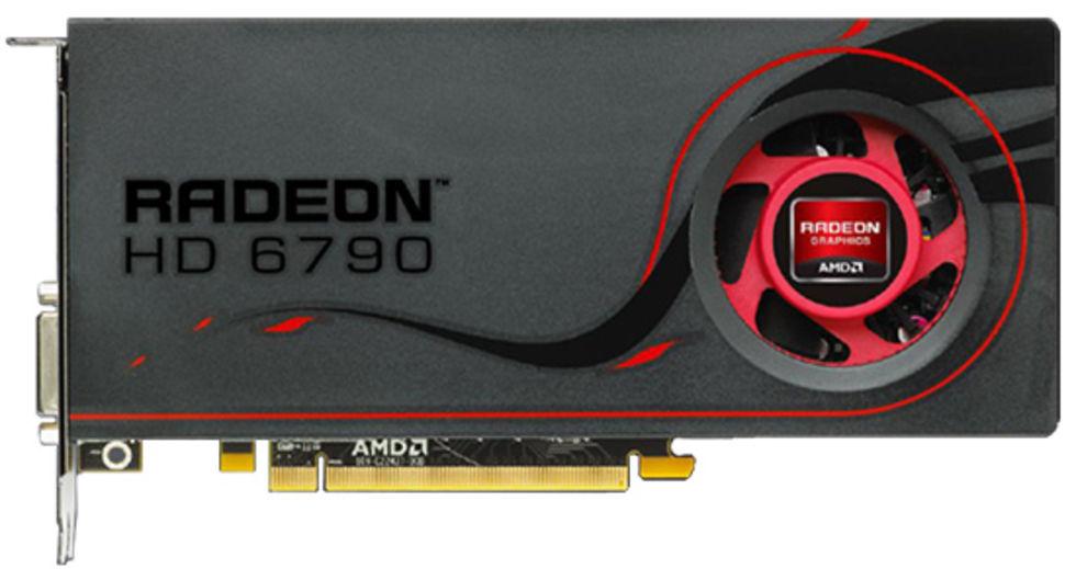 AMD lanserar Radeon HD 6790