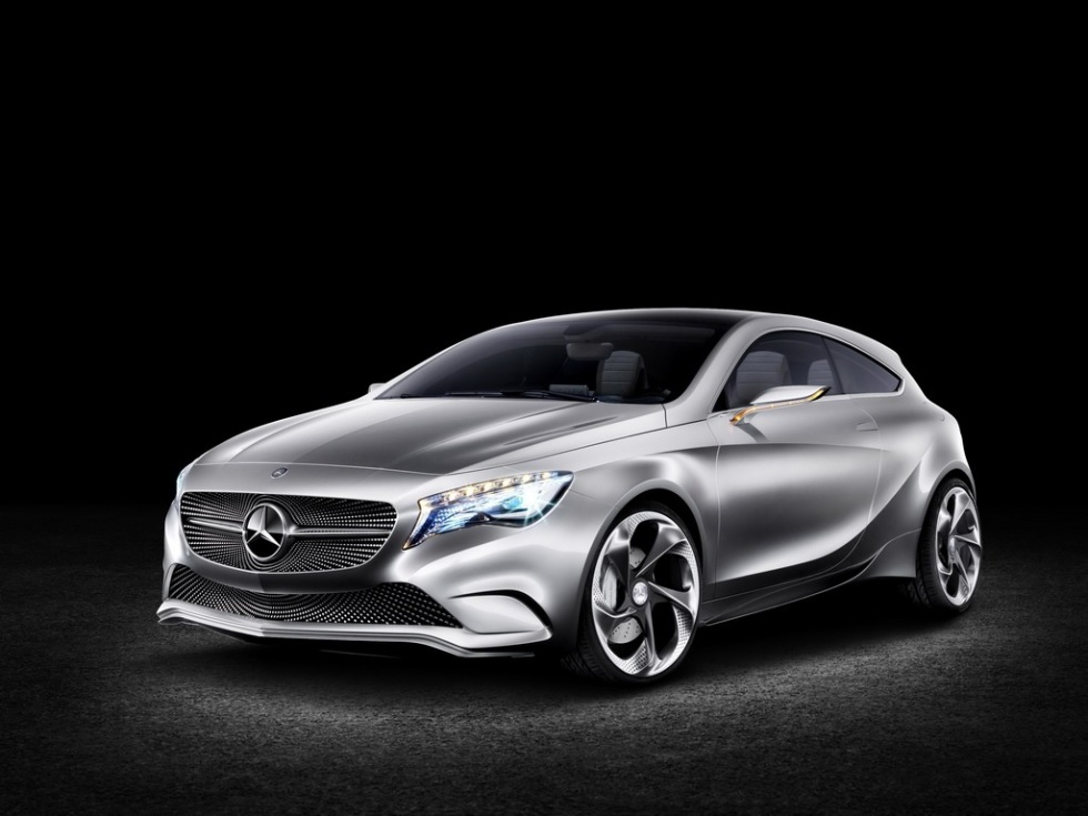 Mercedes Concept A-Class - sportigare än någonsin