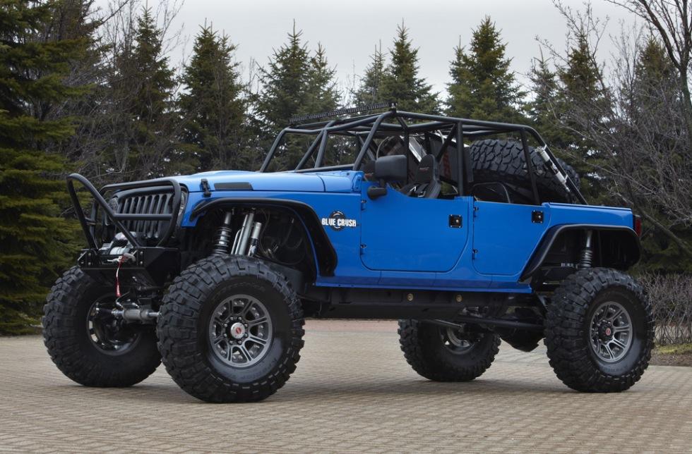 Jeep och Mopar visar upp moddade bilar