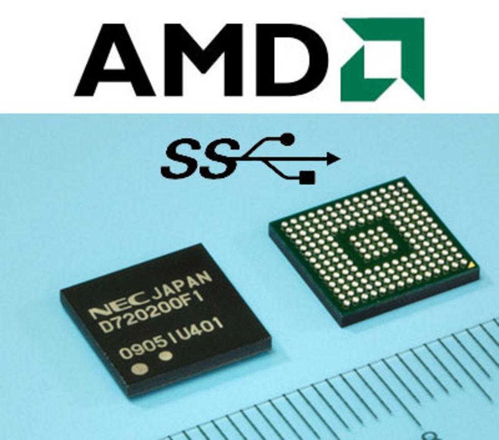 Llanos chipset får native USB 3.0