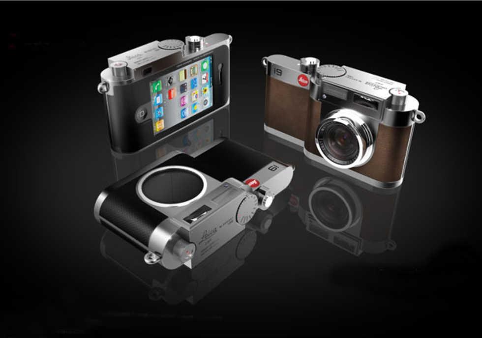 Leica M9 möter iPhone