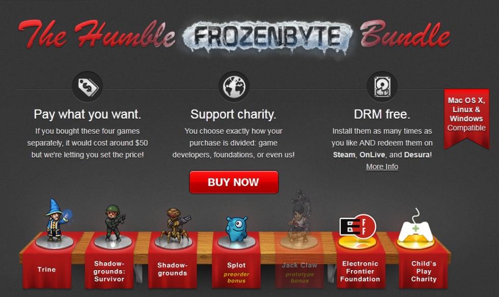 Frozenbyte-bundlen drog in nästan en miljon
