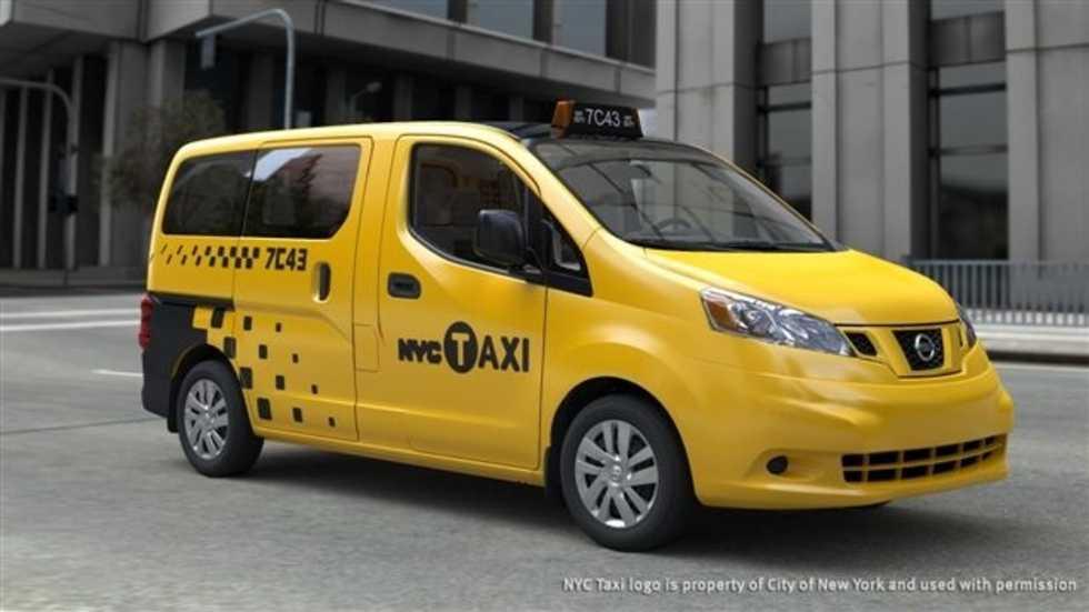 Nissan NV200 är New Yorks nya taxibil