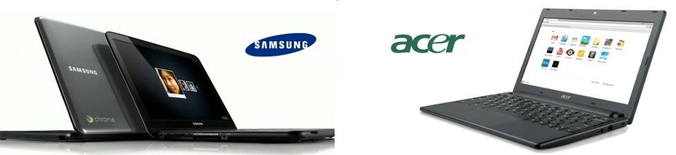 Chrome OS-datorer från Samsung och Acer kommer i juni