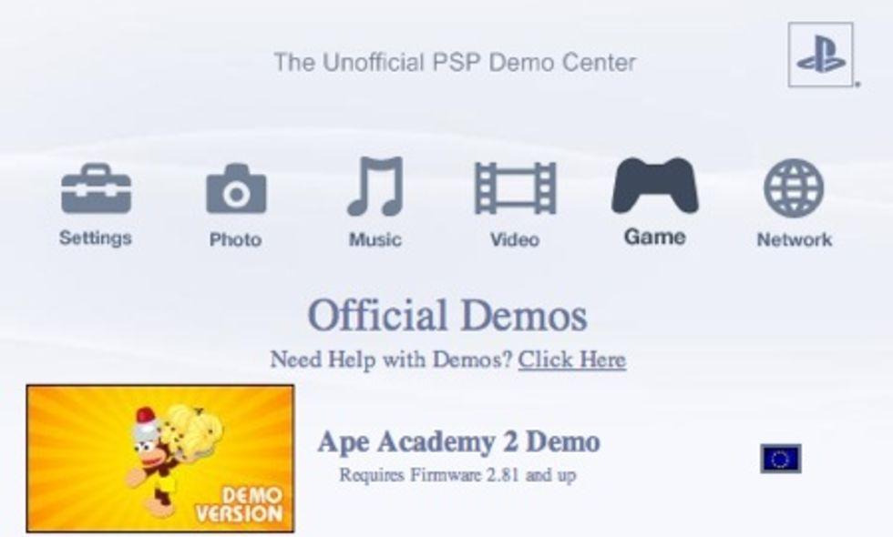 Ett gäng PSP-demon