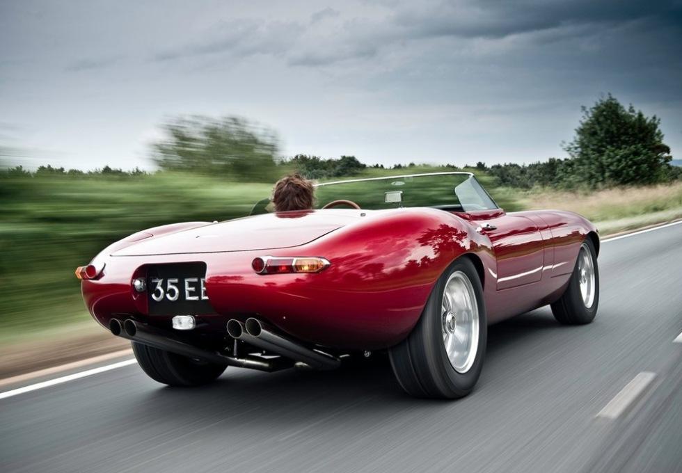 E-Type Speedster Lightweight - en E-Type för 2011