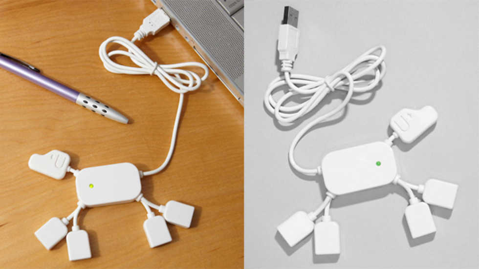 USB-hub-hund