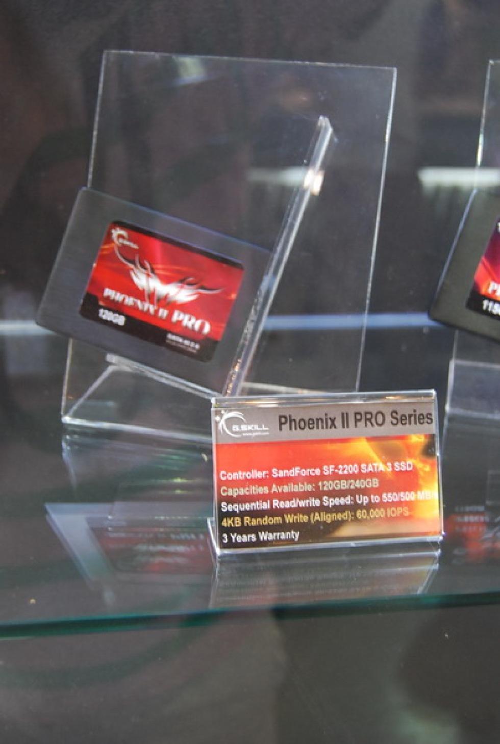 Ny SandForce SSD hos G.Skill