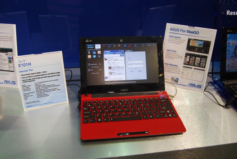 Asus X101 netbook