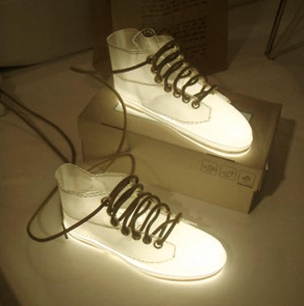 Lysande skor