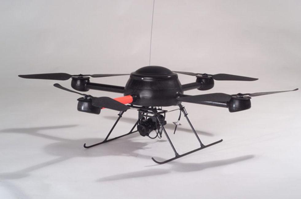 Britterna ska övervakas av flygande robotar