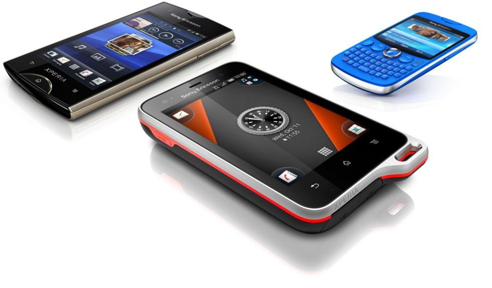 Tre nyheter från Sony Ericsson