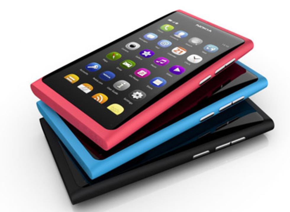 Nokia N9 i butik den 23 september