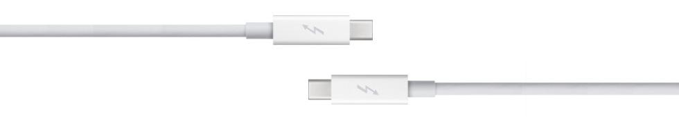 Apple släpper Thunderbolt-kabel