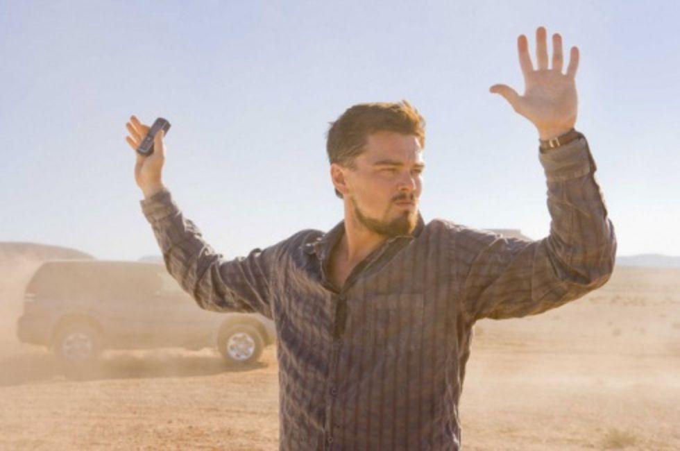 DiCaprio i Clintans