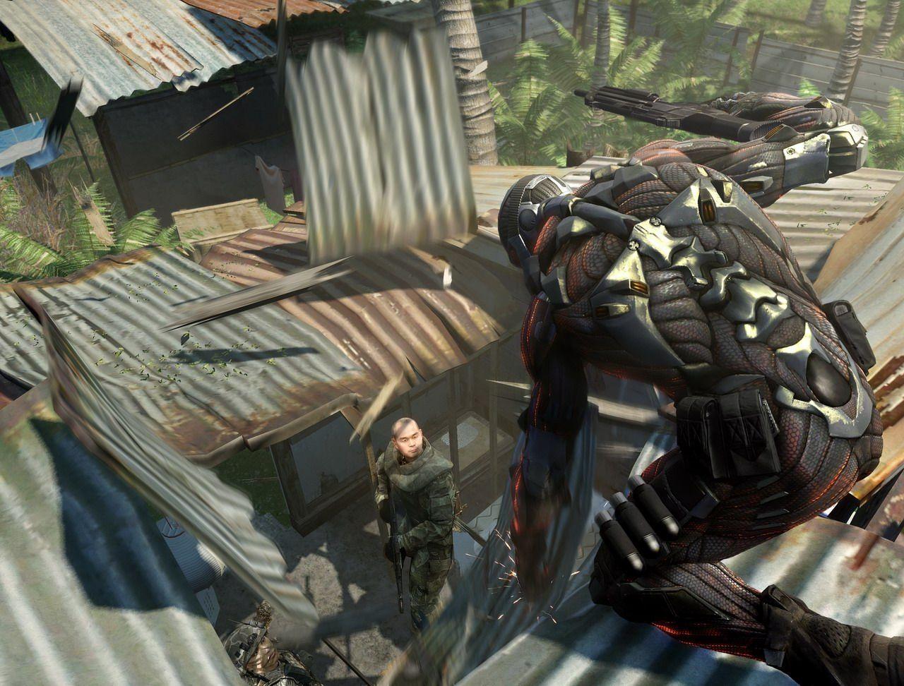 Första Crysis till Xbox 360?