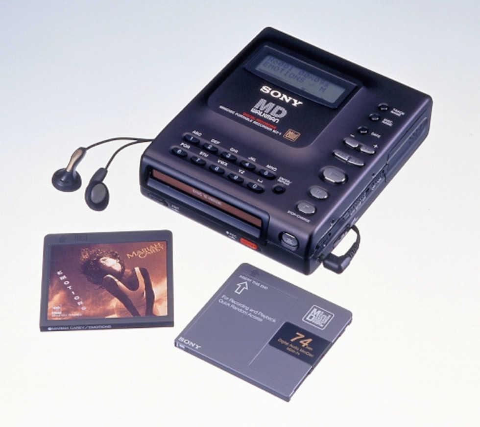 Hejdå MiniDisc Walkman!