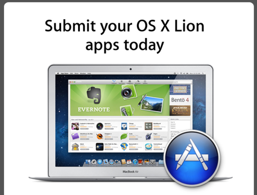 Mac OS X Lion, Mac Pros & MacBook Airs på torsdag?