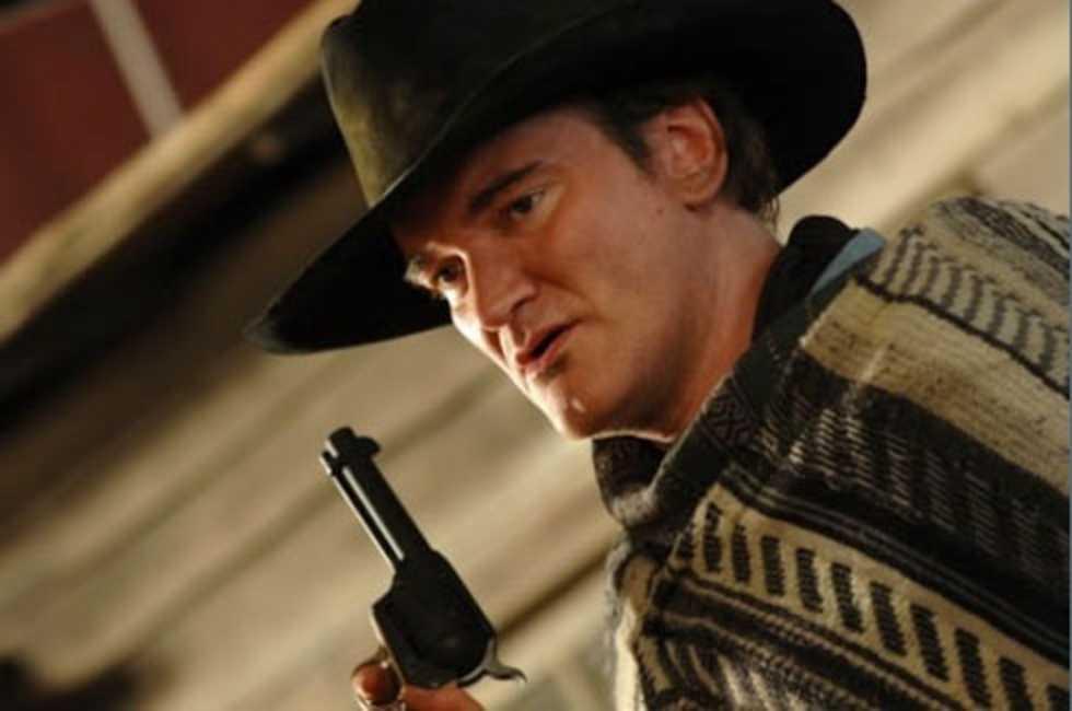 Tarantino spelar i västern
