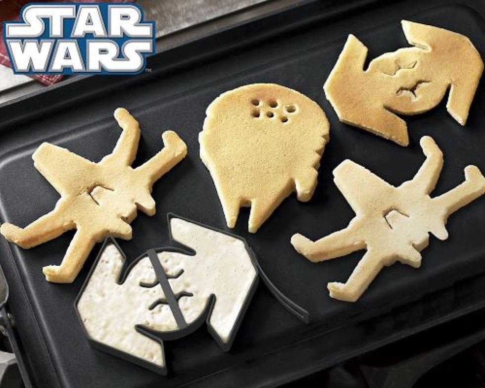 Pannkaksformar för Star Wars-nörden