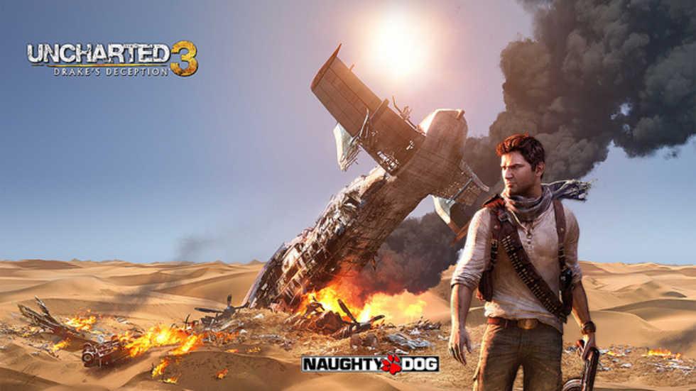 Uncharted 3-betan var populär