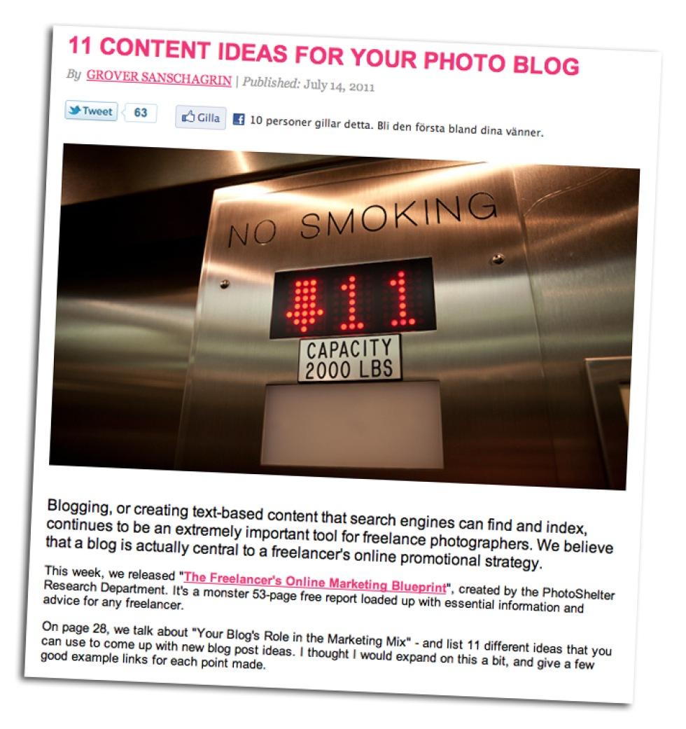 c4c4bf17cc04 Starta fotoblogg? Här är lite idéer på vad den kan innehålla | Feber ...