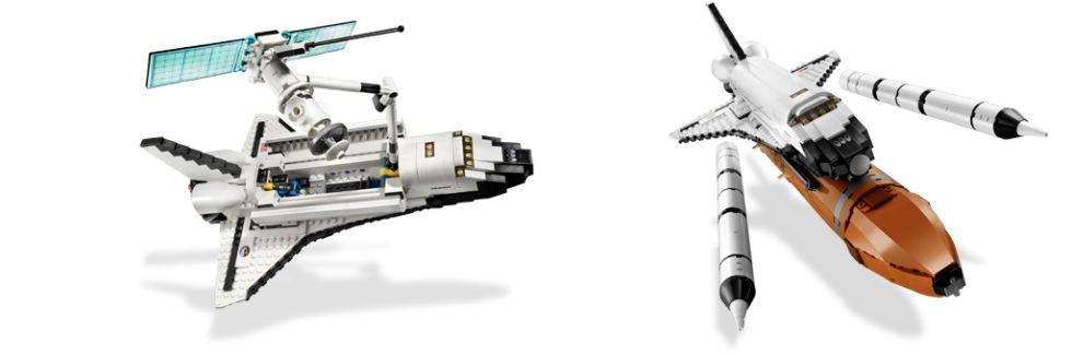 Rymdfärjan Atlantis i LEGO