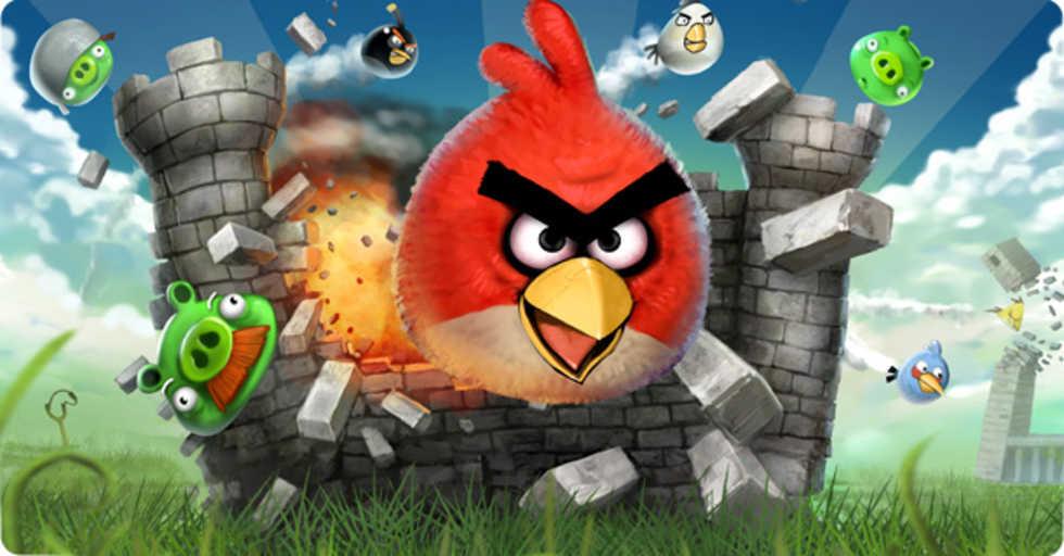 Patenttroll ger sig på Angry Birds