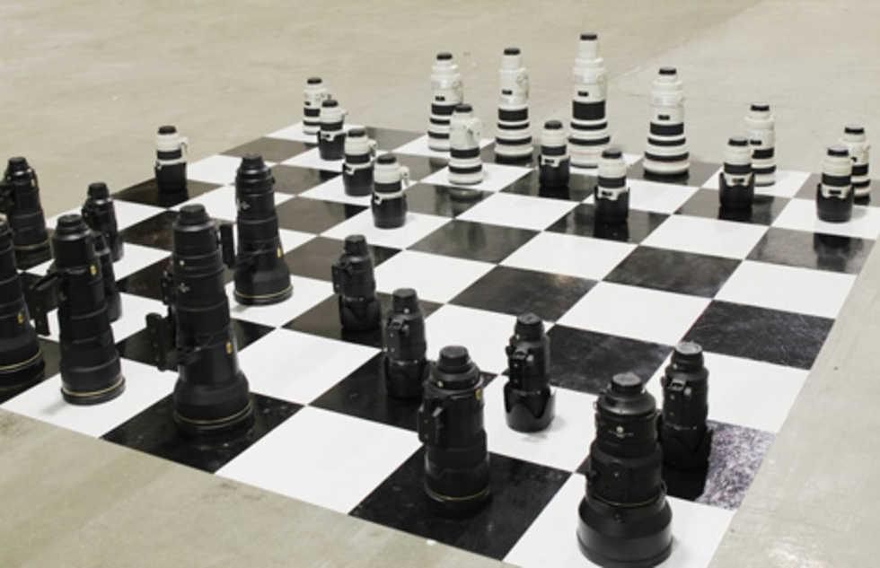 Världens coolaste (och dyraste?) schack