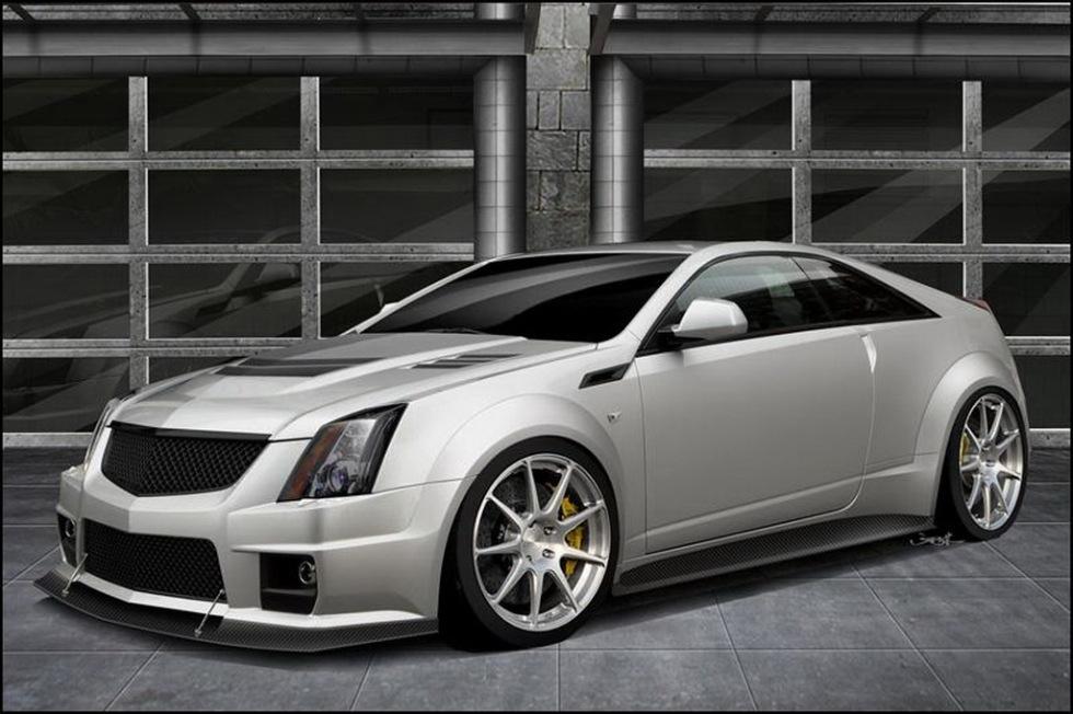 Hennessey trimmar upp Cadillac CTS-V Coupé till 1 000 hästar