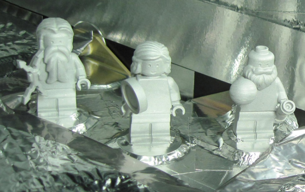 Tre LEGO-figurer ska åka till Jupiter
